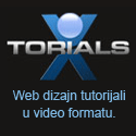 xtorials - web dizajn tutorijali u video formatu