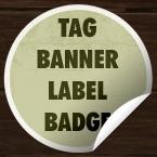 Tags, badges, labels u vektorskom i psd formatu – resursi