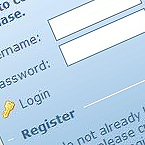 Login & register form – basic HTML + Css styles
