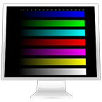 LCD monitor test page