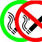 Vektorski znak za dozvoljeno i zabranjeno pušenje