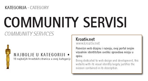 Kroativ.NET nagrađen