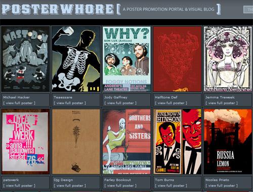 Posterwhore - galerija umjetničkih postera