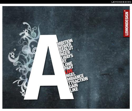 30 inspirativnih tipografija @ i love typography