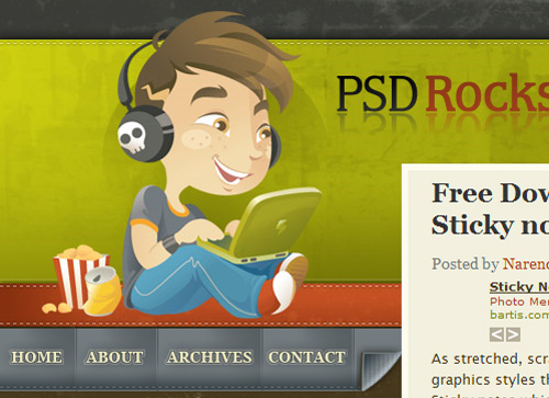 PSDRockStar