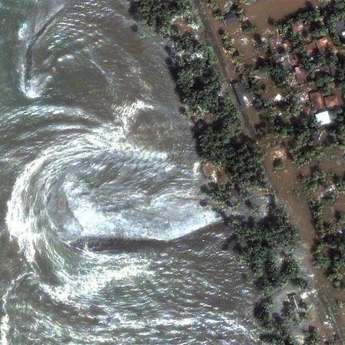 Satelitske snimke tsunamija