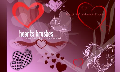 Valentine psd brushes - Hawksmont