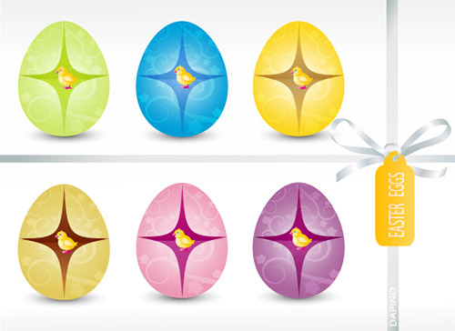 Dapino - easter vector illustrations