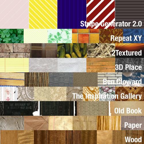 Texture, patterni, generatori - sve na jednom mjestu