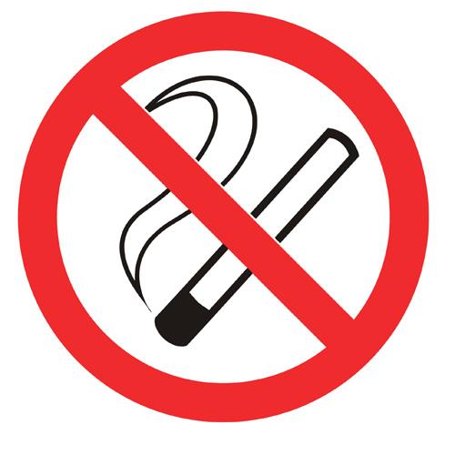znak zabrane pušenja - vektor