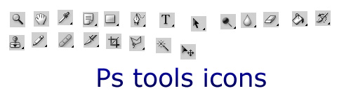 ps tool icons