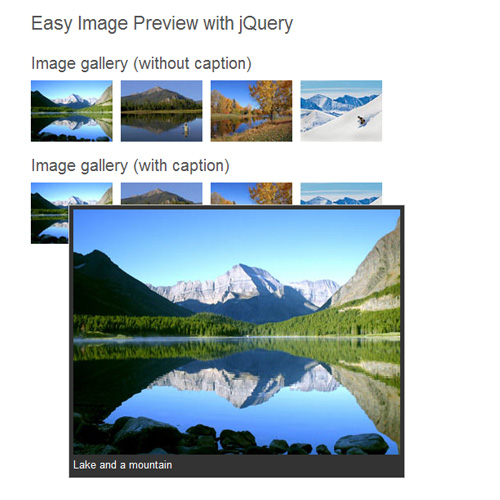 Example 2: Image Preview Gallery