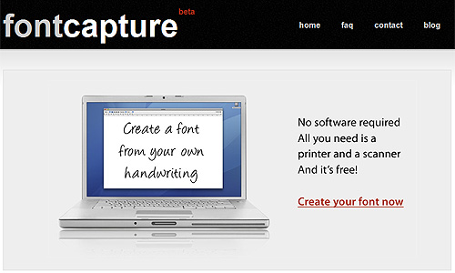 fontcapture generator