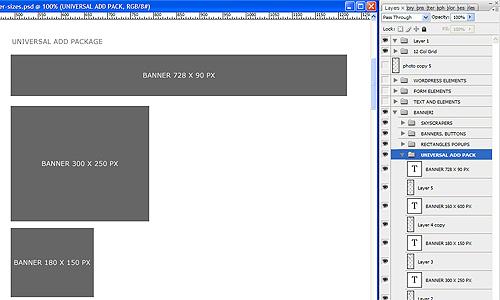predložak za web dizajn