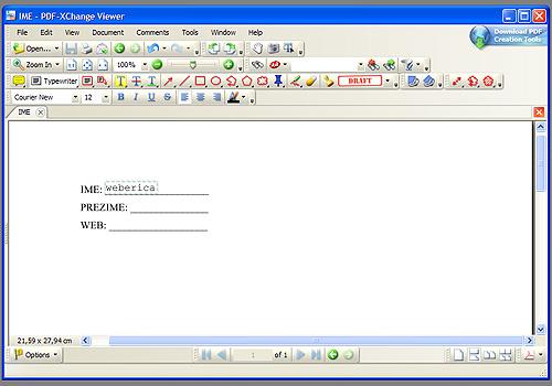editiranje pdf dokumenata