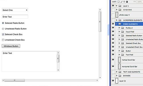 psd predložak za web dizajn