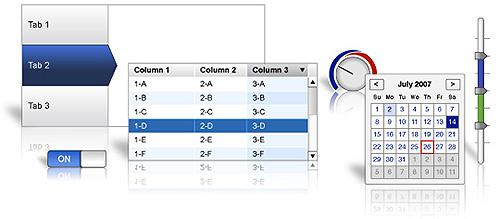 predložak elemenata za web dizajn - yahoo design stencil kit