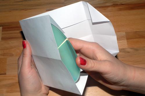 zaštitni omot za cd od papira