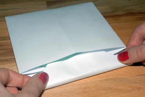 kako napraviti zaštitni omot za CD DVD od arka A4 papira